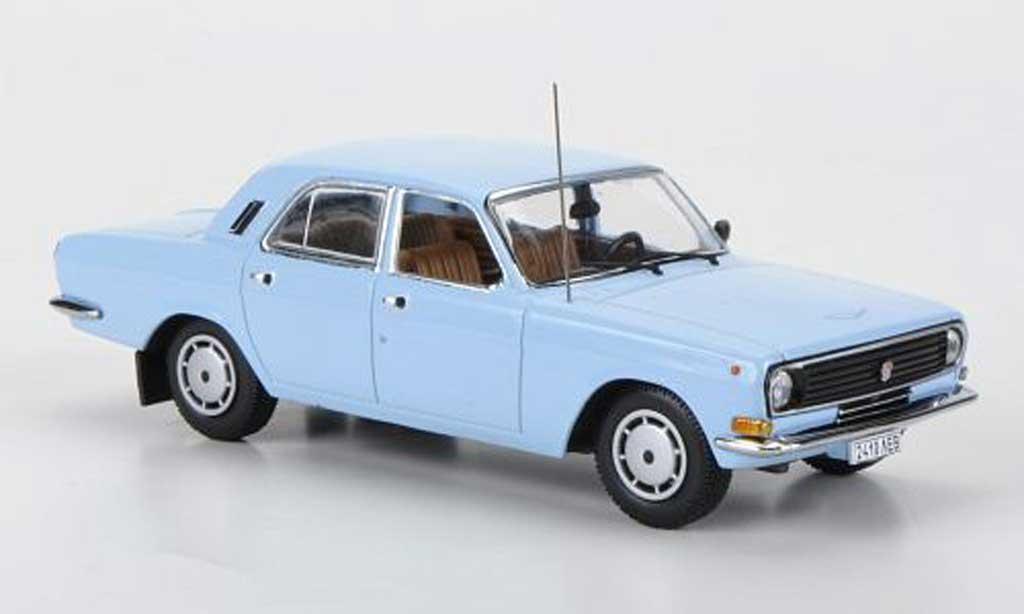 Gaz M24 1/43 IST Models 10 bleu 1985 miniature