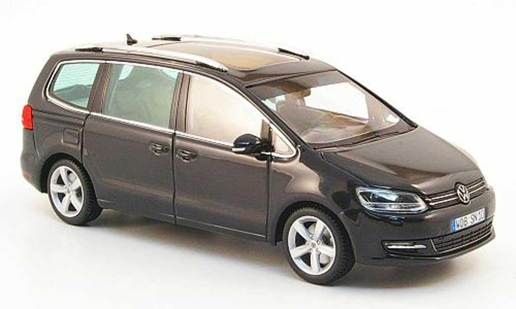 Volkswagen Sharan 1/43 Minichamps II grise 2010 miniature