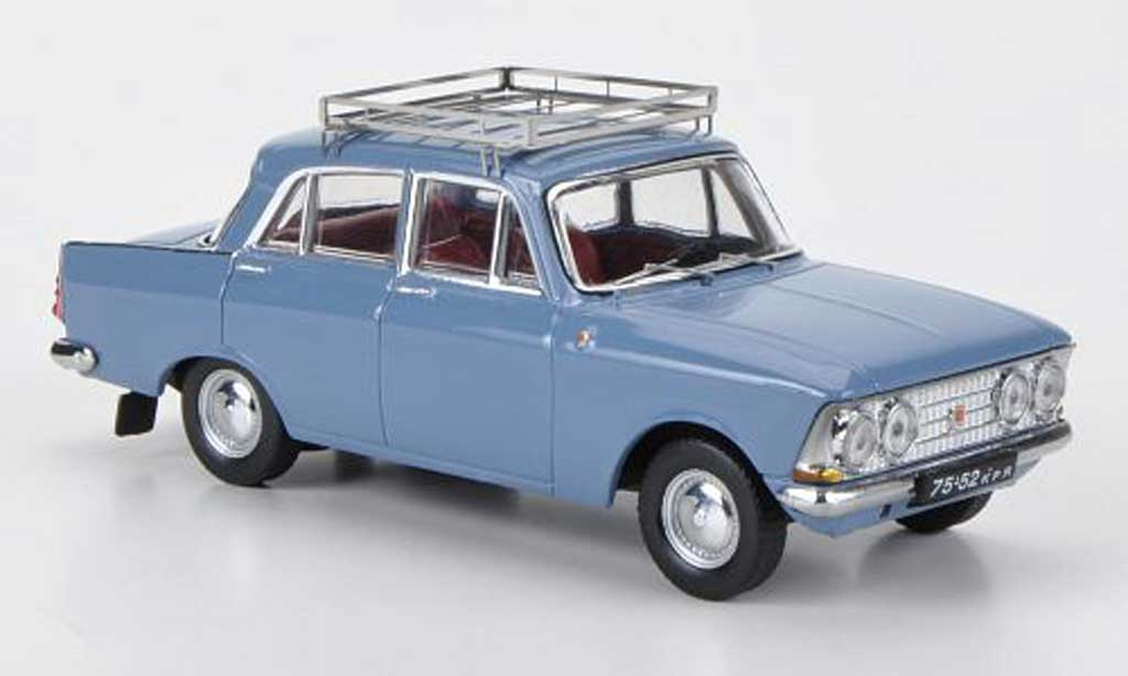 Moskwitsch 408 1/43 IST Models E bleugrise 1966 miniature