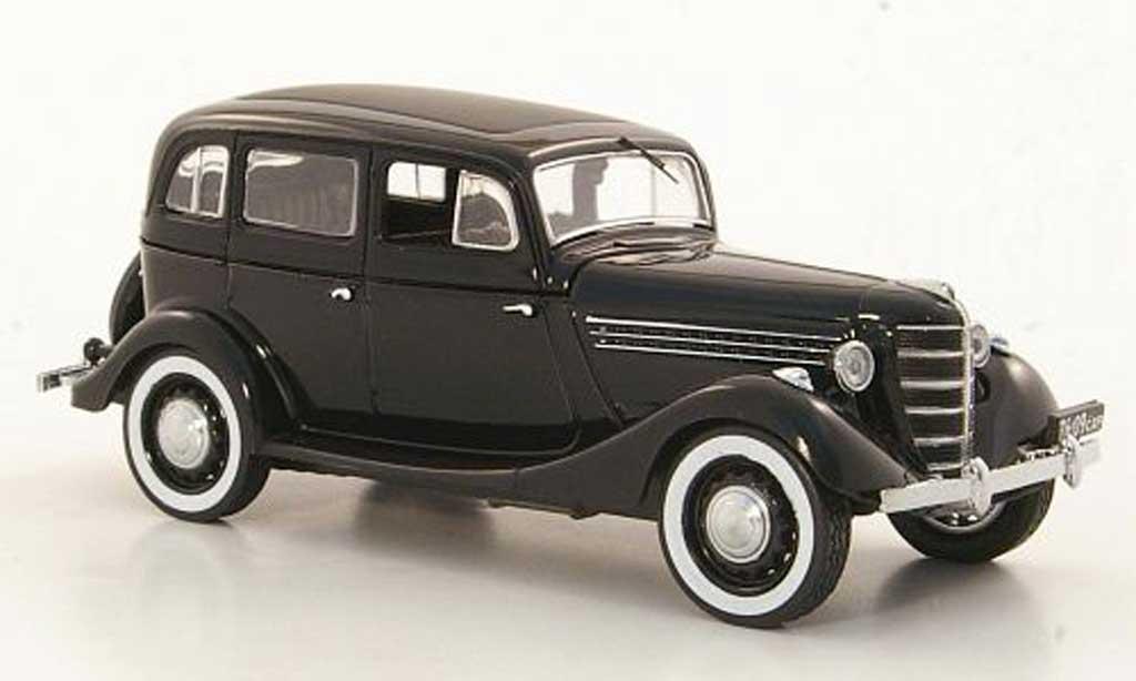 gaz 11 73 miniature noire 1942 ist models 1 43 voiture. Black Bedroom Furniture Sets. Home Design Ideas