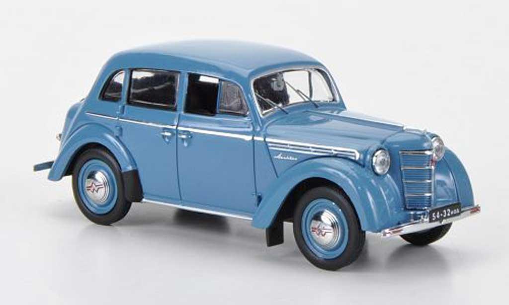 Moskwitsch 400 1/43 IST Models bleu 1954 miniature