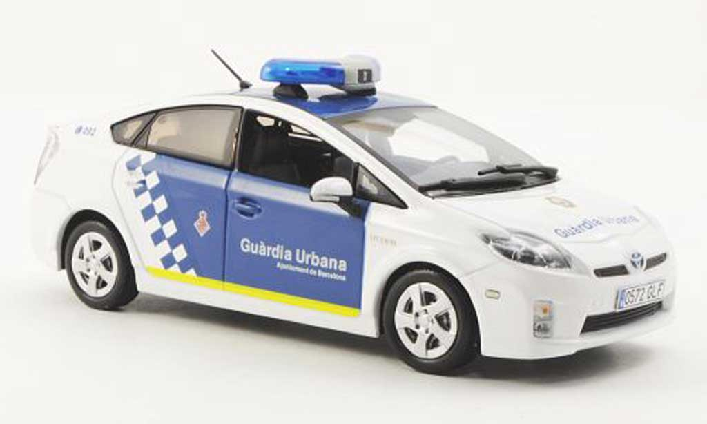 Toyota Prius 1/43 J Collection Spanische Polizei (Guardia Urbana) 2009 miniature