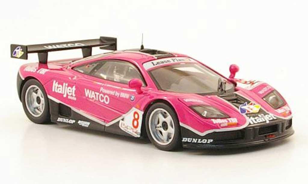 McLaren F1 1/43 IXO GTR No.8 Italjet BPR Silverstone 1996 miniature