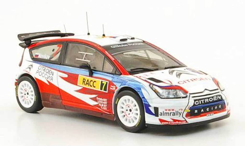 Citroen C4 WRC 2009 1/43 IXO No.7 Rally Spanien miniature