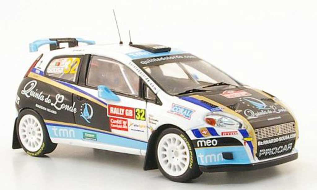 Fiat Grande Punto S2000 1/43 IXO No.32 Rally Wales GB 2009 miniature