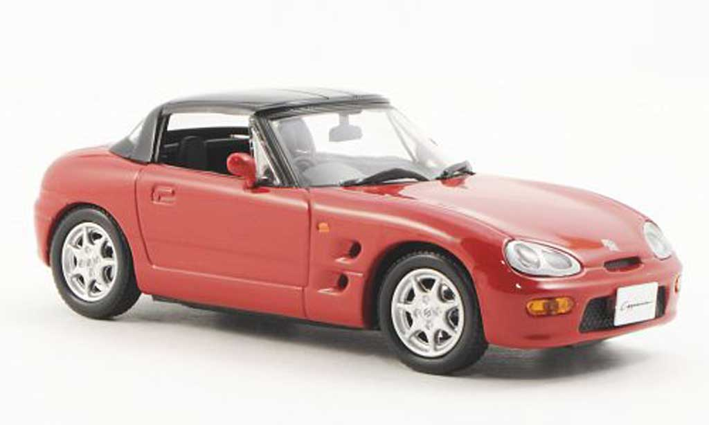 Suzuki Cappucino 1/43 J Collection rot geschlossen 1994 modellautos