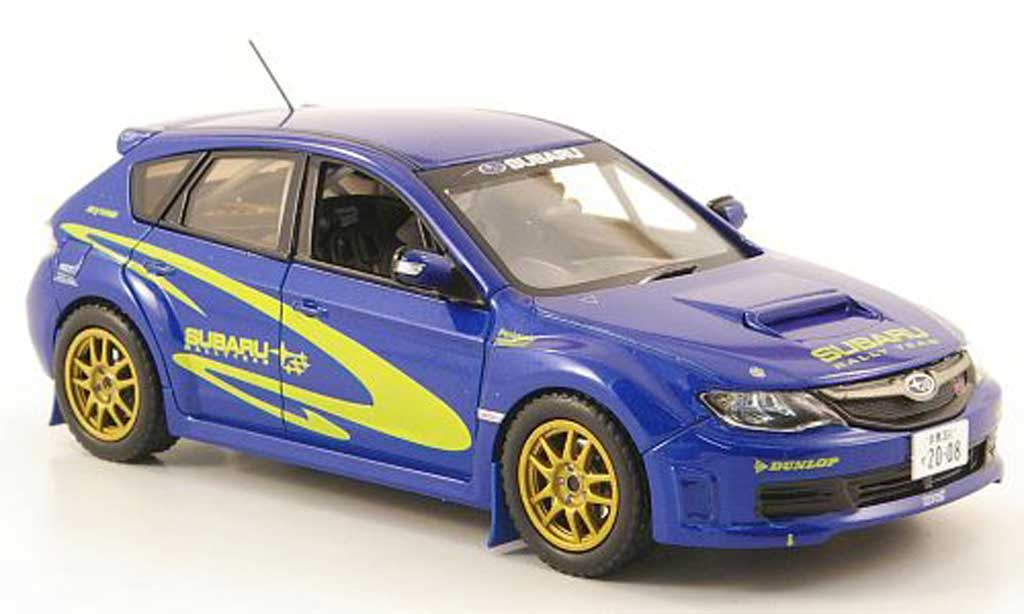 Subaru Impreza WRX 1/43 J Collection STI Gr.N RHD Prasentationsmodell 2008 miniature