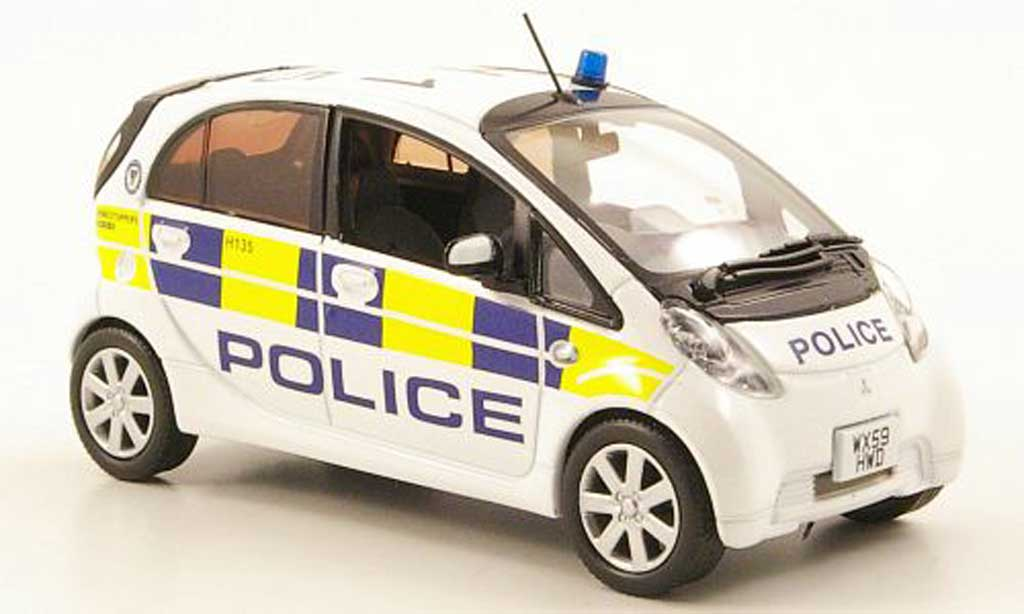 Mitsubishi iMiev 1/43 J Collection West Midlands Police 2009 miniature