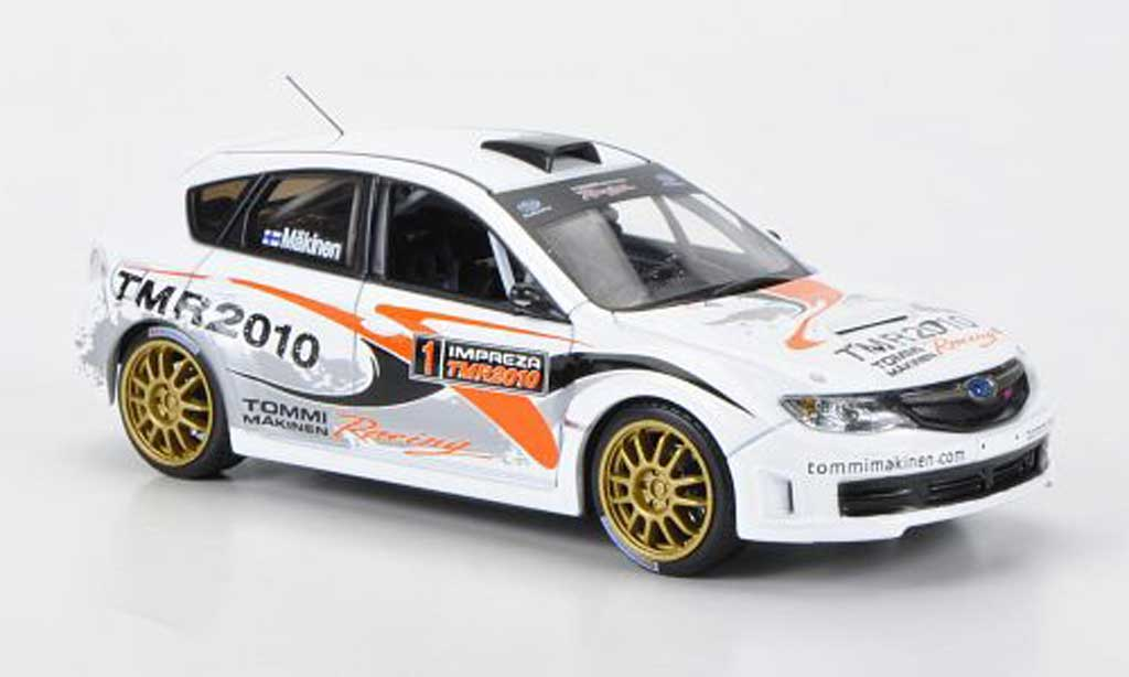 Subaru Impreza WRX 1/43 J Collection STI Gr.N No.1 Tommi Makinen Racing T.Makinen 2010 miniature