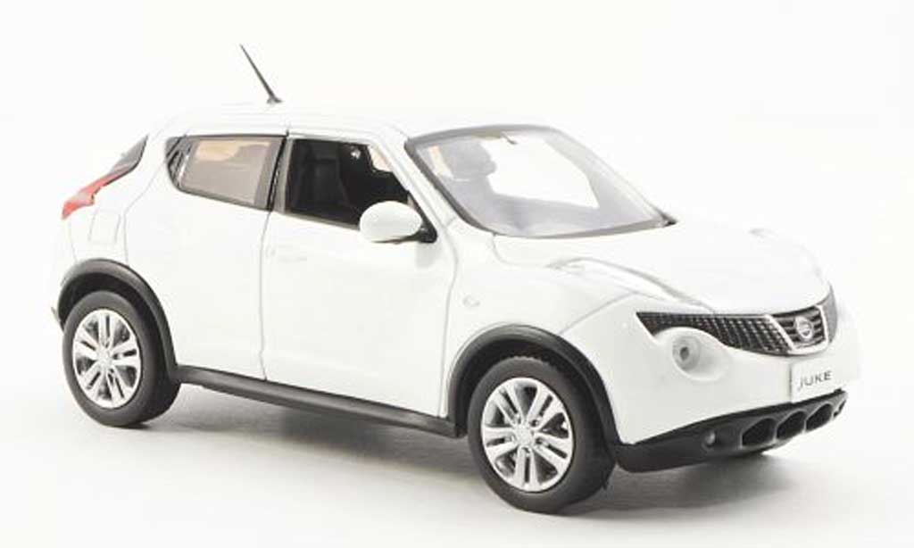 Nissan Juke Miniature Blanche 2010 J Collection 1 43