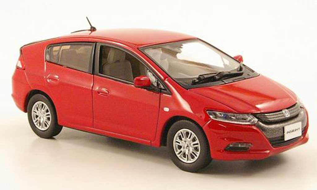 Honda Insight 1/43 J Collection rouge 2010 miniature