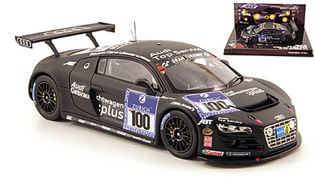 Audi R8 LMS 1/43 Minichamps No.100 Team Abt 24h Nurburgring 2010 diecast
