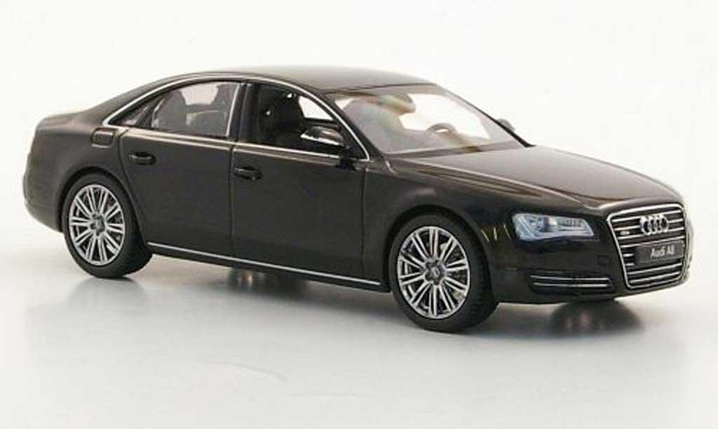 Audi A8 1/43 Kyosho (D4) noire miniature
