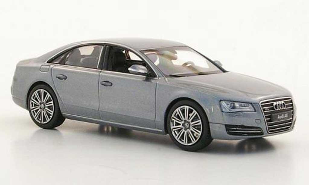 Audi A8 1/43 Kyosho (D4) grise miniature