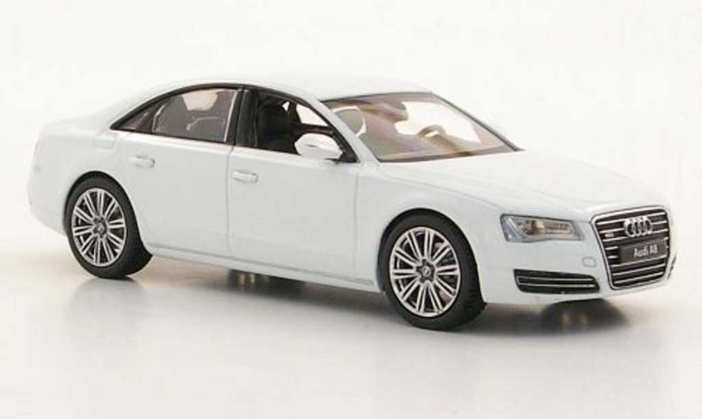 Audi A8 1/43 Kyosho (D4) blanche miniature