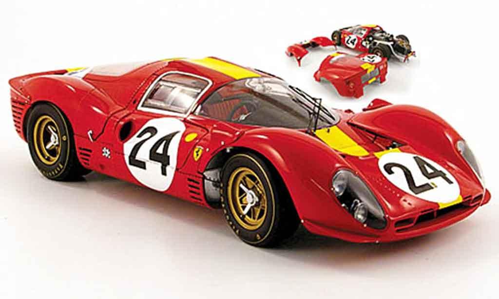 Ferrari 330 P4 1/18 Kyosho no.24 dritter platz 24h le mans 1967 miniature