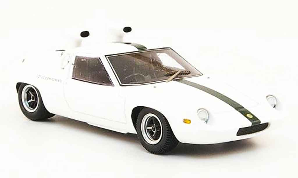 Lotus 47 1/43 Spark test car weiss grun avec schnorchel 1967 modellautos