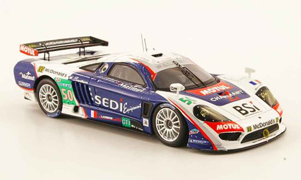 Saleen S7R 2010 1/43 Spark Larbre Competition No.50 24h Le Mans miniature