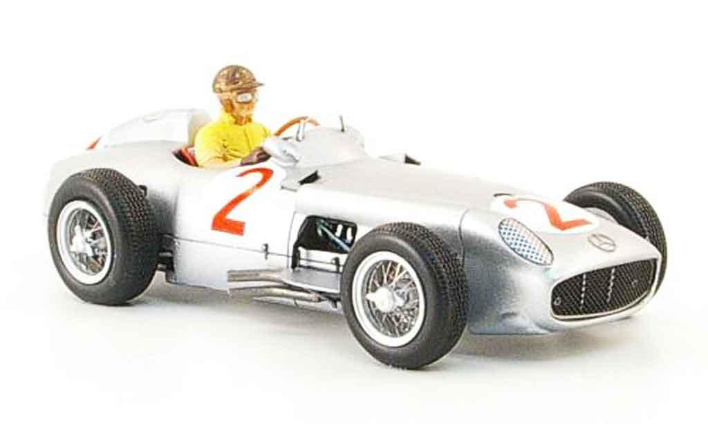 Mercedes W 196 1/43 Spark No.2 J.M.Fangio GP Monaco 1955 miniature