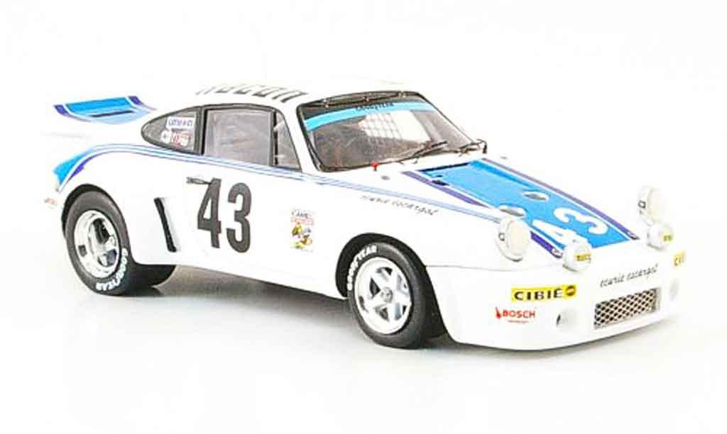 Porsche 930 RSR 1/43 Spark Carrera No.43 Racon 24h Daytona 1977 miniature