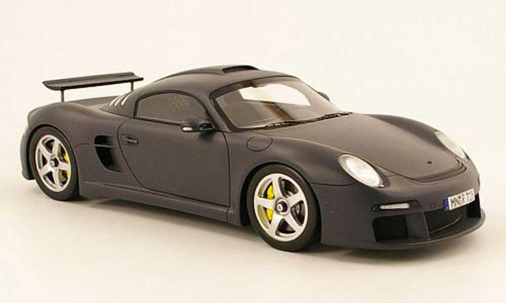 Porsche 997 RUF 1/18 Spark ctr3 grise 2009 miniature