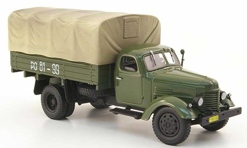 Zis 150 1/43 DIP Models Pritsche/Plane grise miniature