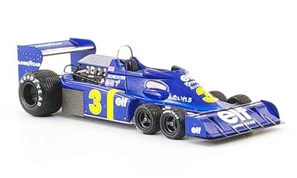 Tyrrell P34 1/43 Reve Collection No.3 elf J.Scheckter GP Japan 1976 miniature