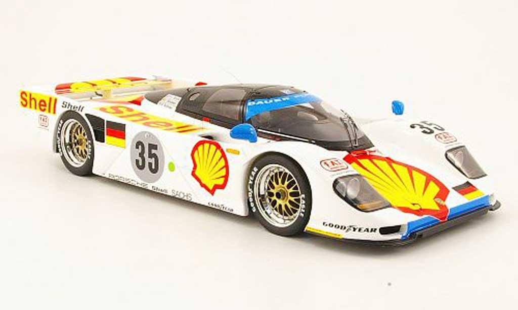 Porsche 962 1994 1/18 Spark dauer no.35 s 24h le mans miniature