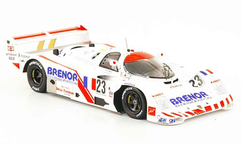 Porsche 962 1983 1/43 Spark No.23 Brenor 24h Le Mans diecast model cars