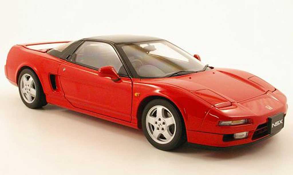Honda NSX 1990 1/18 Autoart rouge rhd miniature