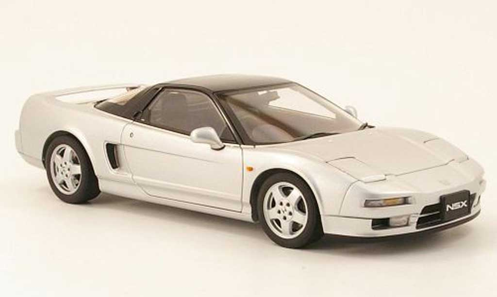 Honda NSX 1990 1/18 Autoart grey metallisee diecast model cars