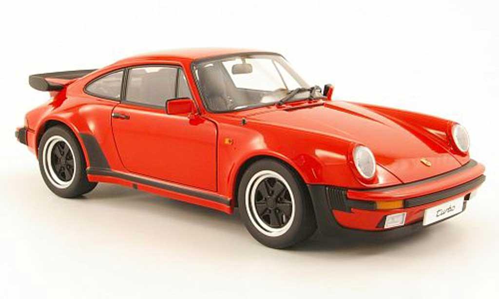 Porsche 930 Turbo 1/18 Autoart 3.3 rouge 1978 miniature