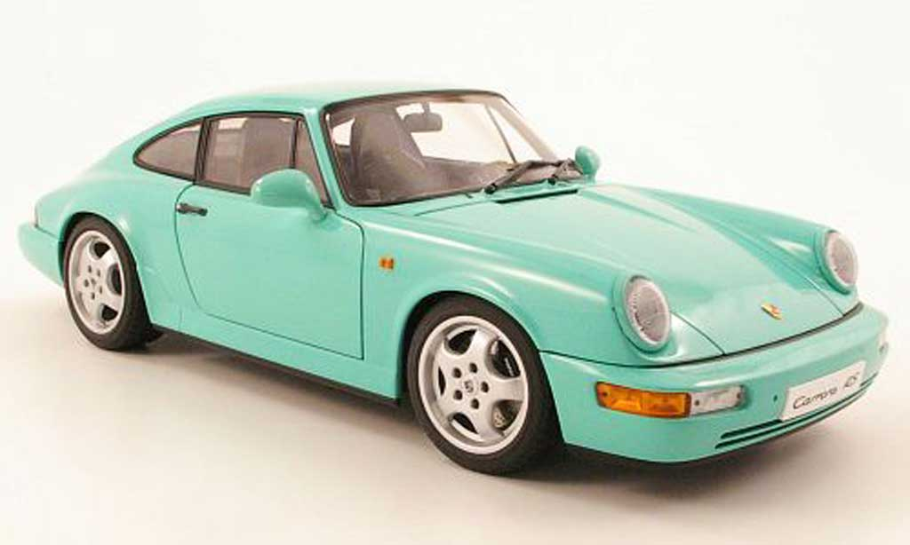 porsche 964 rs carrera menthe 1992 autoart modellauto 1 18 kaufen verkauf modellauto online. Black Bedroom Furniture Sets. Home Design Ideas