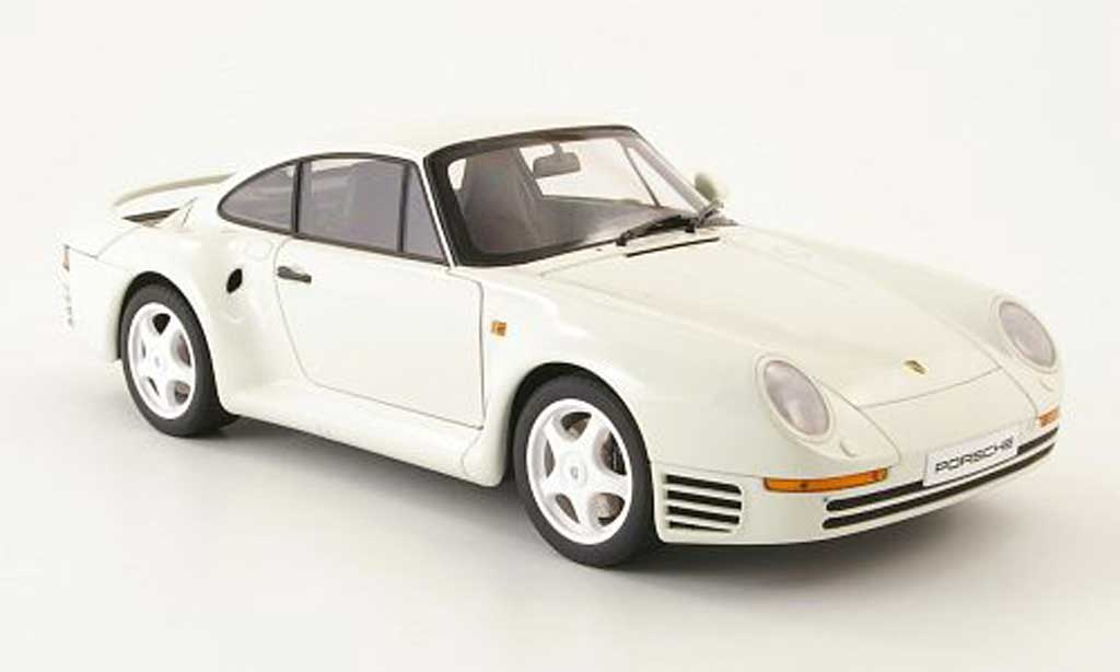 porsche 959 1986 weiss autoart modellauto 1 18 kaufen. Black Bedroom Furniture Sets. Home Design Ideas