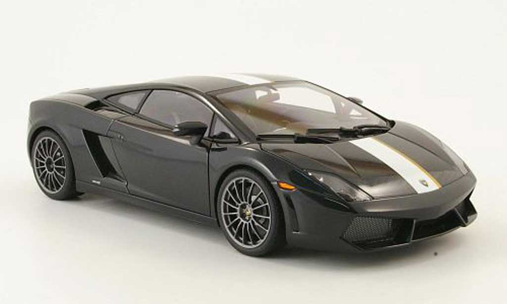 lamborghini gallardo lp550 2 valentino balboni schwarz 2009 autoart modellauto 1 18 kaufen. Black Bedroom Furniture Sets. Home Design Ideas