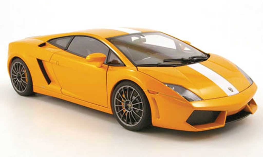 Lamborghini Gallardo LP550-2 1/18 Autoart balboni orange 2009 miniature