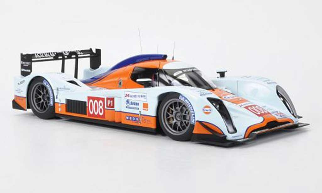 Aston Martin LMP1 1/18 Autoart Lola No.008 24h Le Mans 2009 Davidson/Turner/Verstappen miniature