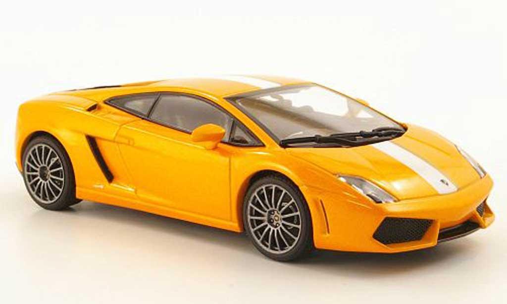 Lamborghini Gallardo LP550-2 1/43 Autoart Balboni orange 2009 miniature