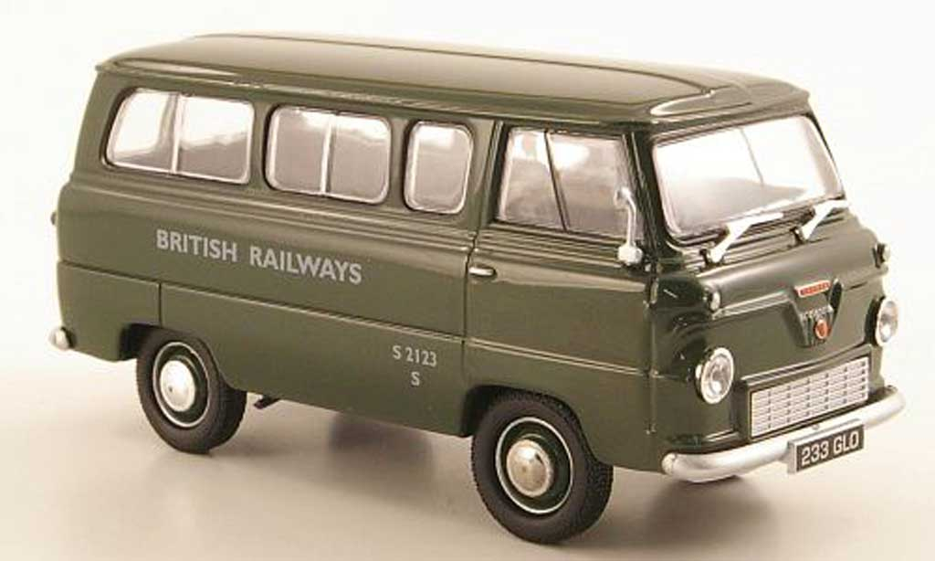 Ford 400E 1/43 Oxford Thames Bus British Railways RHD miniature