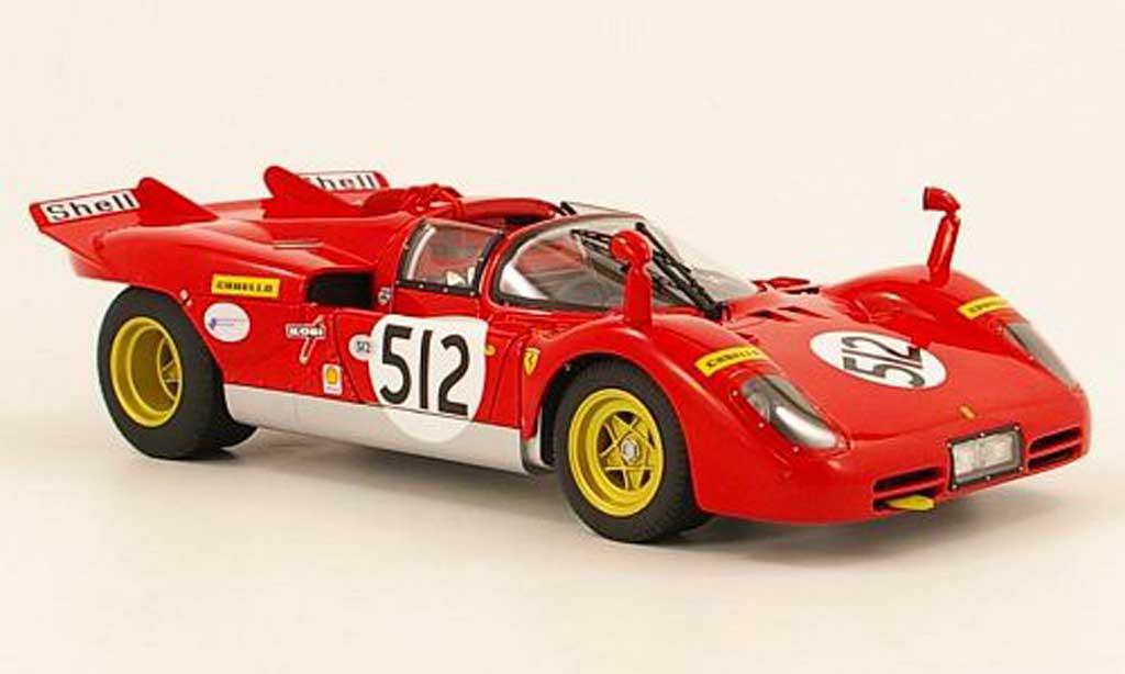 Ferrari 512 S 1/18 Hot Wheels no.512  besitzer nick mason (pink floyd) miniature