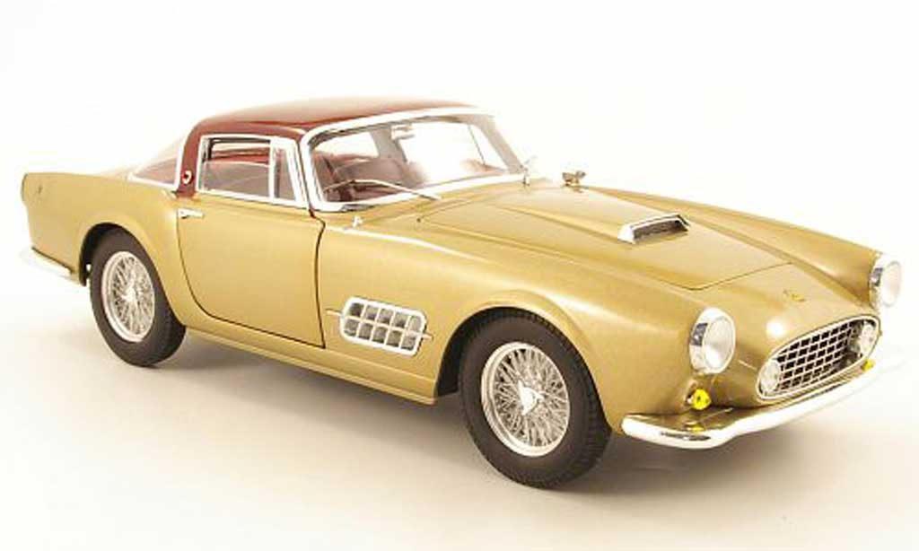 Ferrari 410 1/18 Hot Wheels Elite superamerica or/rouge 1956 miniature