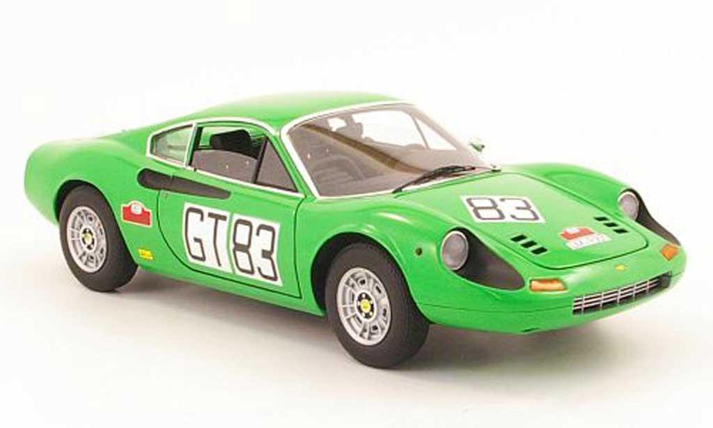 Ferrari 246 1/18 Hot Wheels Elite dino gt no83 1000km nurburgring 1971 miniature