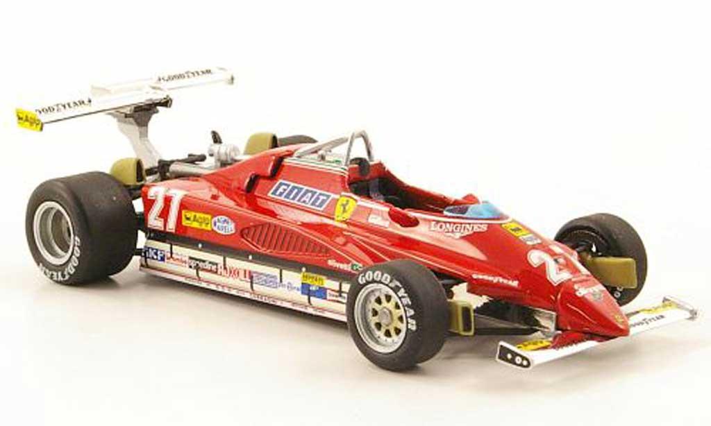 Ferrari 126 1982 1/43 Hot Wheels Elite C2 No.27 GP USA-West (Elite) miniature