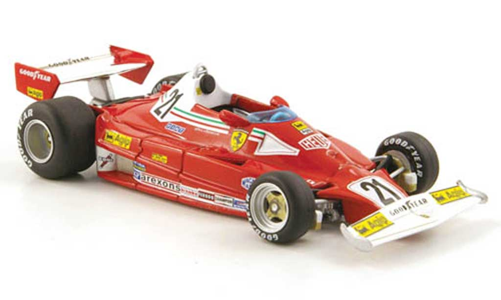 Ferrari 312 T2 1/43 Hot Wheels Elite No.21 GKanada (Elite) 1977 miniatura