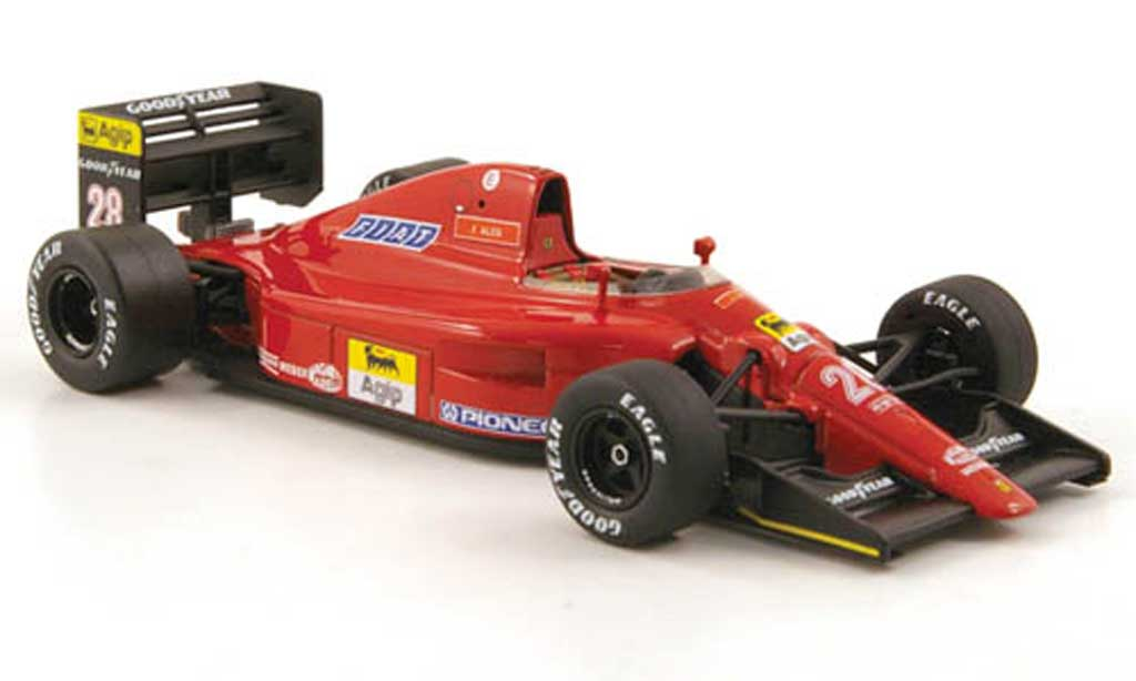 Ferrari F1 1991 1/43 Hot Wheels Elite 642 F1-91 No.28 GP Monaco (Elite) miniature