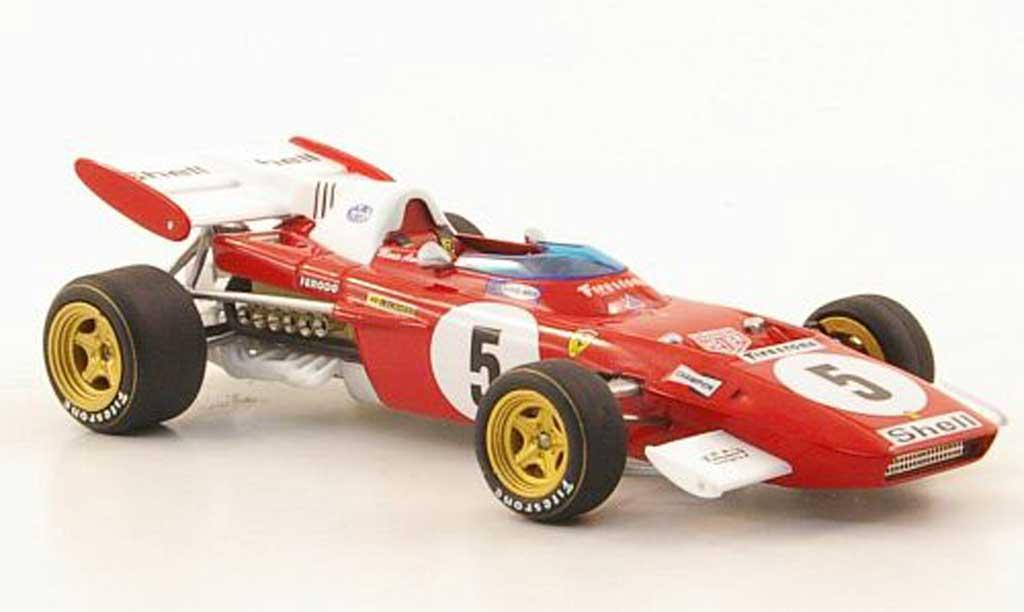 Ferrari 312 B 1/43 Hot Wheels Elite No.5 M.Andretti GDeutschland (Elite) 1971 modellino in miniatura