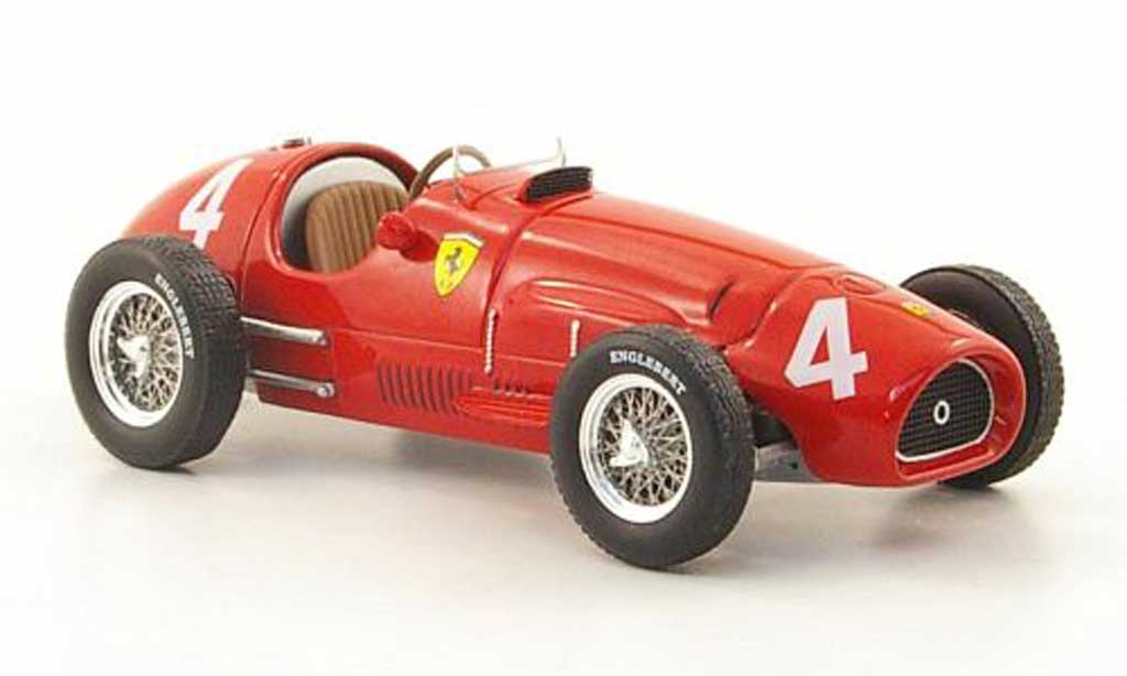 Ferrari 500 F2 1/43 Hot Wheels Elite No.4 A.Ascari GP Belgien (Elite) 1952 miniature