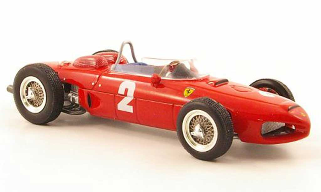 Ferrari 156 1961 1/43 Hot Wheels Elite F1 No.2 P.Hill GP Italien (Elite) miniature