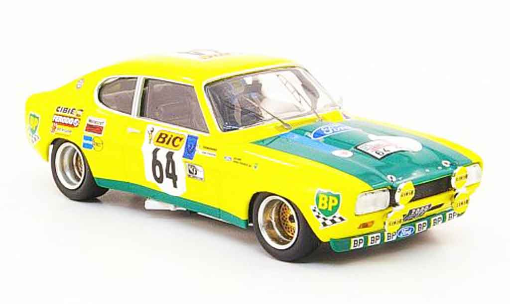 Ford Capri 2600 1/43 Trofeu  No.64 Tour de France Auto 1972 miniature