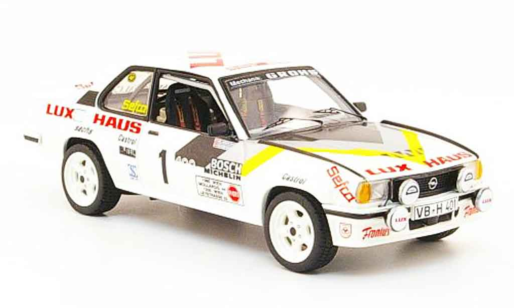 Opel Ascona B 1/43 Schuco 400 no.1 lux haus 1982 miniature